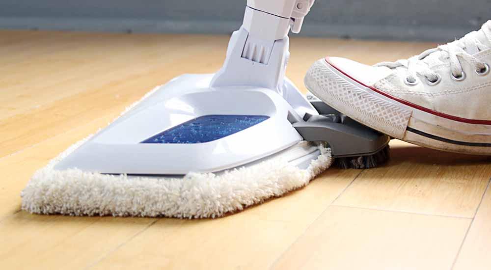 benefit of steam mop