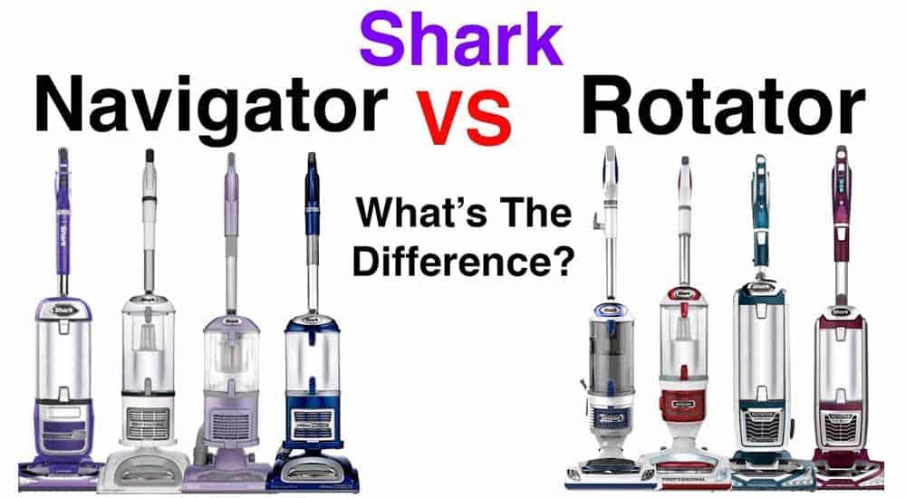 Shark Navigator vs Rotator