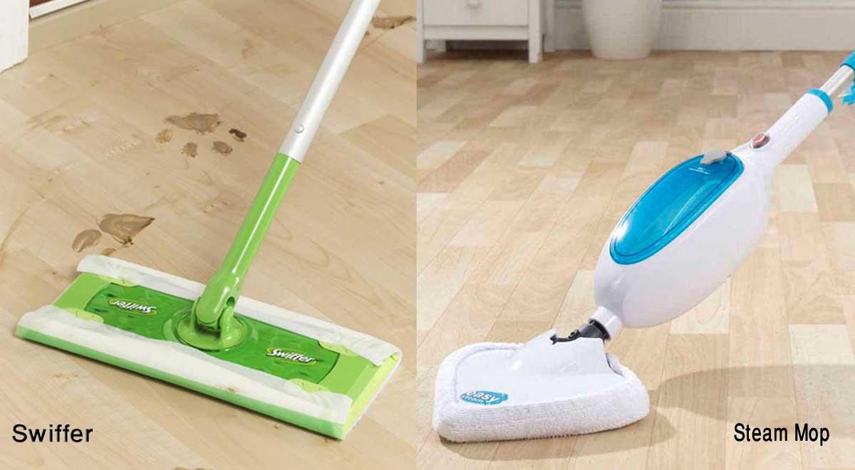 Swiffer Sweeper vs Steam Mop